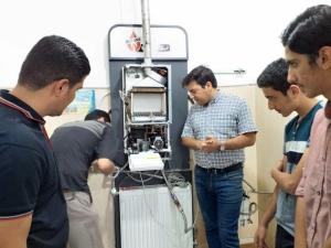 دوره آموزشی  نصب،راه اندازی و تعمیر پکیج شوفاژ گازی- خرداد و تیر 98 - روزهای زوج